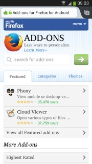 Firefox Beta For Android Phones V30.0 Mobile Software