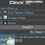DivX Mobile Media V1.1 Mobile Software