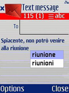 QuickWrite (Italian) Mobile Software