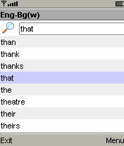 MSDict Bulgarian English Dictionary Mobile Software