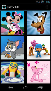 KidTV Lite For Android Phones V2.2 Mobile Software