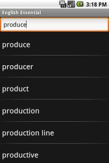 Collins English Essential TR For Java Phones V3.2.105 Mobile Software