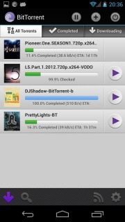 BitTorrent Torrent App For Android  V1.30 Mobile Software