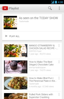 YouTube For Android Phones V5.2.27 Mobile Software