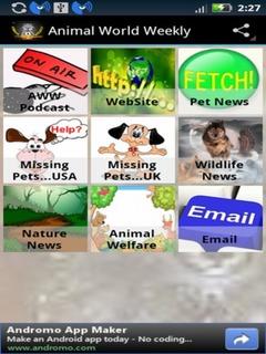 Animal World Weekly Mobile Software
