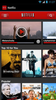 Netflix For Android Phones V 2.4.1 Build 950 Mobile Software