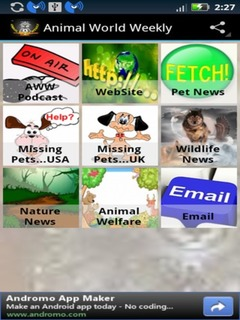 Animal World Weekly Mobile Software