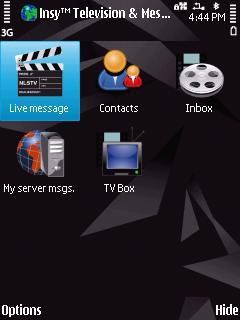 Insy Television And Messaging For Symbian Phones V2.01 Mobile Software