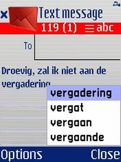 QuickWrite Dutch For Symbian Phones V 2.20 Mobile Software