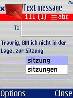 QuickWrite German For Symbian Phones V 2.20 Mobile Software