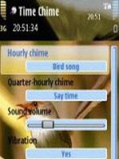 Time Chime For Symbian Phones V 1.0 Mobile Software