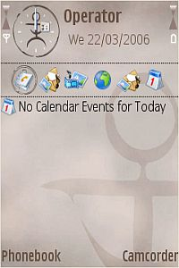 Ancient JOIKU Theme For Symbian Phones V 3.2 Mobile Software