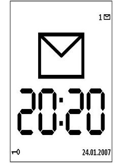 Large Time Screensaver For Symbian Phones V1.04 Mobile Software