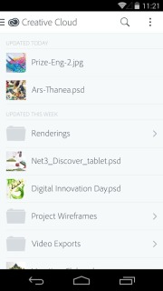 Adobe Creative Cloud For Android Phones Apps V 1.0.3 Mobile Software