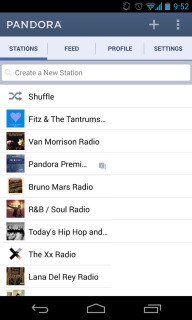 Pandora Internet Radio Mobile Software
