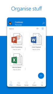 OneDrive Mobile Software