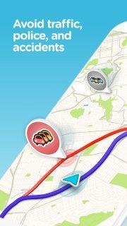 Waze GPS Maps Traffic Alerts And Live Navigation Mobile Software