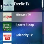 FreeBe TV V1.0 Mobile Software