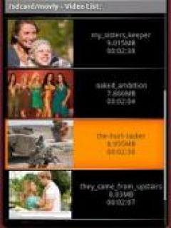 Mobile Video Player Mobile Software