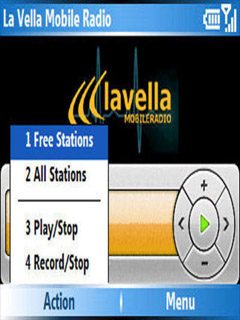 La Vella Mobile Radio 1.1 Mobile Software