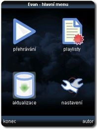 Evan  Mp3 Player  0.1 Mobile Software