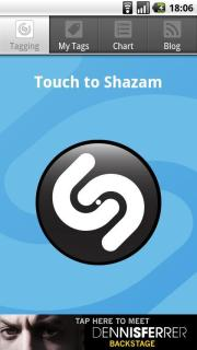 Shazam Mobile Software