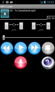 MP3 Cutter For Android Phones V2.2.2 Mobile Software