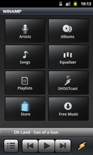 Winamp For Android Phones V 1.4.15 Mobile Software