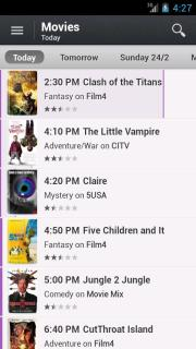 TV Guide UK For Android Phones V 2.8.0 Mobile Software