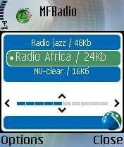 MFRadio For Java Phones V 0.9.1 Mobile Software