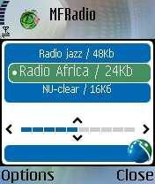 MFRadio For Java Phones V 0.9.1 Mobile Software
