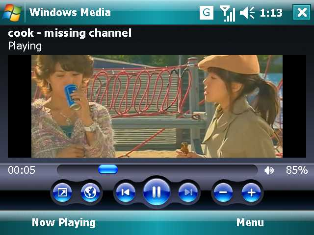 Windows Media Player Mobile Software