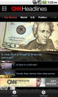CNN App For Android Phones V1.3.0 Mobile Software