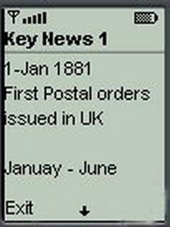 Key News For Java Phones V 1 0.0.6 Mobile Software