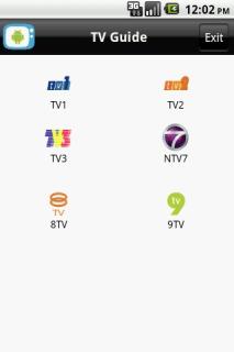 TV Guide For Java Phones V 1.2 Mobile Software