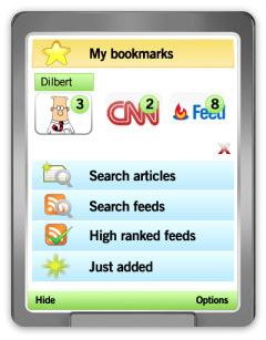 Mobispine RSS News Reader V 2.6.0 Mobile Software