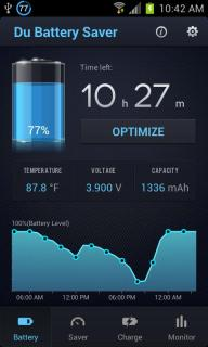 DU Battery Saver And Widgets For Android Mobiles V3.3.0 Mobile Software