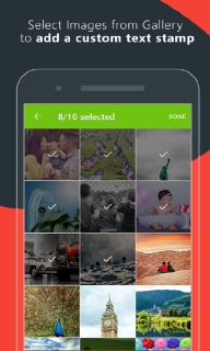 Add Text And Timestamp On Gallery Photos Mobile Software