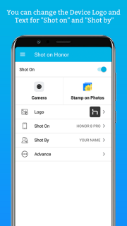 ShotOn For Honor: Auto Add Shot On Photo Watermark Mobile Software