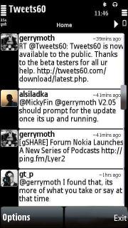 Tweets60 1.36.3 Mobile Software