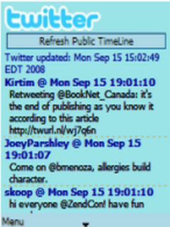 Mobi Twitter 0.34.13 Mobile Software