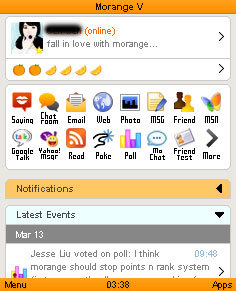 Morange V 5.1.1 Mobile Software