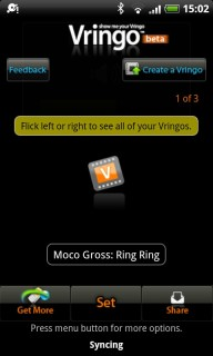 Vringo 1.9.7 Mobile Software