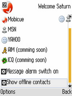 Mobicue 2.0 Mobile Software