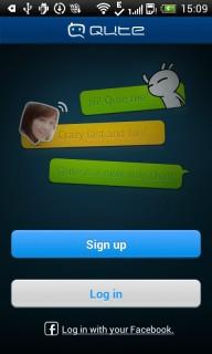 Qute Messenger-Free Messenger Mobile Software