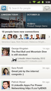 LinkedIn For Android Phones Application V5.1.7 Mobile Software