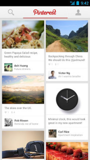 Pinterest For Android Phones V1.5.5 Mobile Software