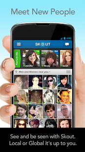SKOUT - Meet Chat And Flirt For Android Phones V2.8.1 Mobile Software