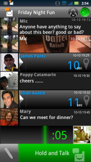 Voxer Walkie-Talkie PTT For Android Phones V 1.2.1.0001 Mobile Software