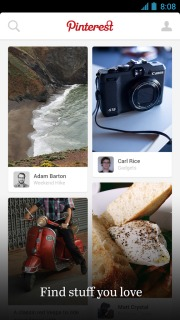 Pinterest For Android Phones V2.1.3 Mobile Software